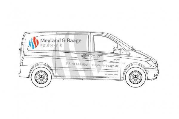 Design af folie til varevogn